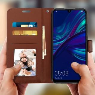 Flip Stand Cover mit Standfunktion Huawei P Smart 2019 / Honor 10 Lite - Braun - Vorschau 3