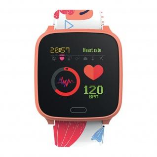 IP68 wasserdichte Kinder Smartwatch Silikon-Armband, iGO Forever � Rosegold