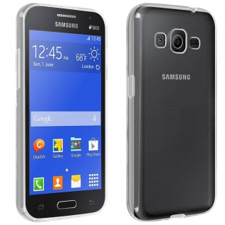 Samsung Galaxy Core Prime Schutzhülle Silikon ultradünn (0.30mm) ? Transparent