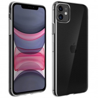 Apple iPhone 11 Schutzhülle Silikon Second Skin ? Transparent