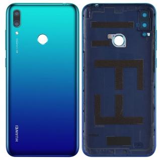 Ersatzteil Akkudeckel, neue Rückseite für Huawei Y7 2019 - Blau