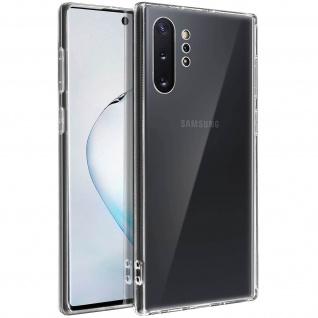Crystal Schutzhülle + Bumper cover für Samsung Galaxy Note 10 Plus â€? Transparent