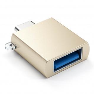 Sync- & Ladeadapter, USB-C männlich / USB weiblich Adapter by Satechi - Gold