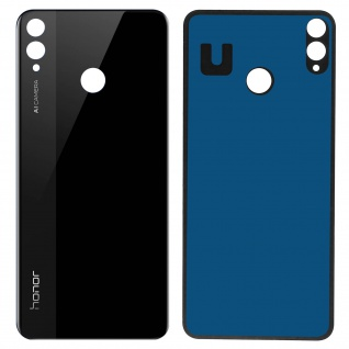 Ersatzteil Akkudeckel, neue Rückseite für Honor 8X, View 10 Lite - Schwarz