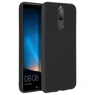 Forcell Huawei Mate 10 Lite Soft Touch Silikonhülle, soft case - Schwarz