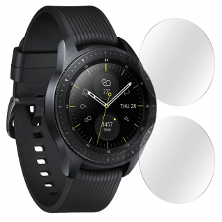 2x Schutzfolien Samsung Galaxy Watch 42mm, Flexibel, Kratzfest, Transparent