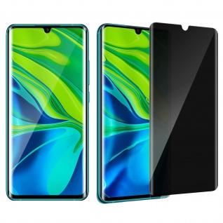 Folie mit Blickschutz Xiaomi Mi Note 10 / Note 10 Pro / Note 10 Lite - Schwarz