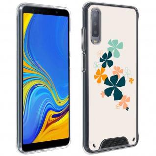 Handyhülle für Samsung Galaxy A7 2018, Made in France ? Kleeblatt Design