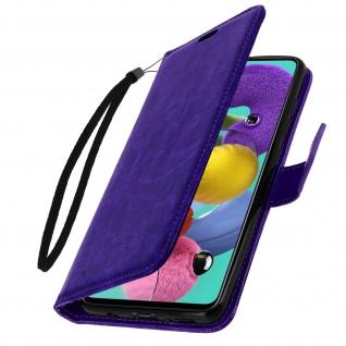 Flip Cover Stand Case Brieftasche & Standfunktion Samsung Galaxy A71 - Violett - Vorschau 2