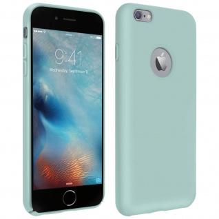 Halbsteife Silikon Handyhülle Apple iPhone 6 Plus / 6S Plus, Soft Touch - Grün