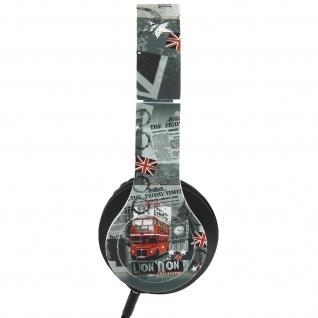 Kopfhörer mit integriertem Mikrofon - London by Akashi
