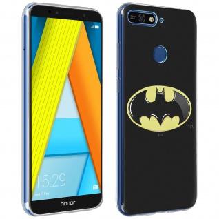 DC Comics Batman Gelhülle, Silikon Hülle für Huawei Y6 2018/Honor 7A â€? Schwarz