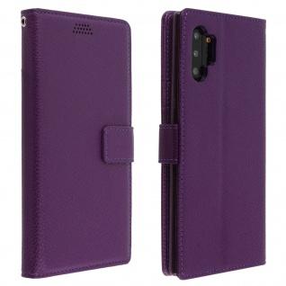 Samsung Galaxy Note 10 Flip-Cover mit Kartenfächern & Standfunktion â€? Violett