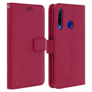 Honor 20 Lite Flip-Cover mit Kartenfächern & Standfunktion â€? Rosa