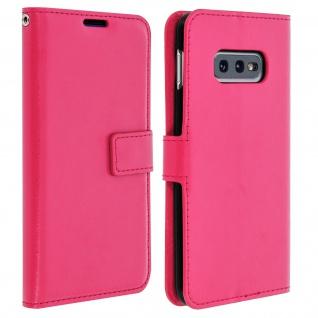 Flip Stand Cover Brieftasche & Standfunktion für Samsung Galaxy S10e - Rosa