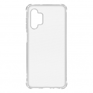 Flexible Samsung Galaxy A32 5G Silikon Bumper Hülle, stoßfest - Transparent