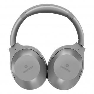 Hurricane IPX3 Wireless Bluetooth-Headset, Swissten � Grau