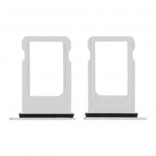 SIM-Ersatz-Kartenhalter für Apple iPhone 8 ? Silber