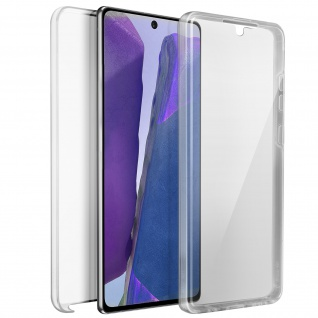Schutzhülle für Samsung Galaxy Note 20, Vorder- + Rückseite ? Transparent