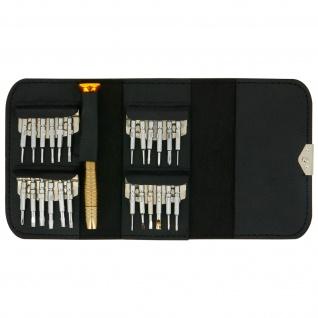 Werkzeug-Set (Schraubendreher, Öffnungswerkzeug...) für Smartphones und Tablets