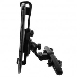 Universal KFZ-Halterung Tablets 7'' bis 11'' - Kopfstütze-Befestigung - Schwarz - Vorschau 4