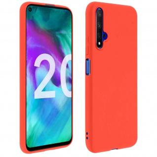 Honor 20 / Huawei Nova 5T Soft Touch Silikonhülle, soft case - Rot