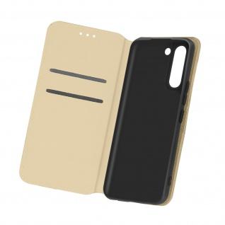 Kunstleder Cover Classic Edition für Samsung Galaxy S21 Plus ? Gold