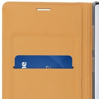 Flip Book Cover, Klappetui aus Kunstleder für Samsung Galaxy Note 10 - Gold - Vorschau 5