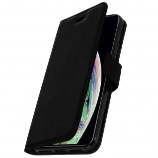 Flip Stand Cover Brieftasche & Standfunktion Apple iPhone XS Max - Schwarz - Vorschau 2
