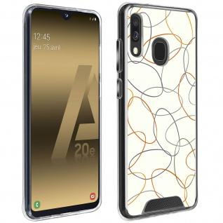 Stoßfeste Handyhülle für Samsung Galaxy A20e, Made in France ? Gekritzel Design