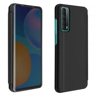 Huawei P Smart 2021 View Cover mit Spiegeleffekt & Standfunktion � Schwarz