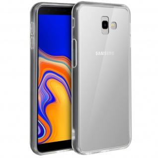 Crystal stoßfeste Schutzhülle + Bumper cover für Galaxy J4 Plus - Transparent