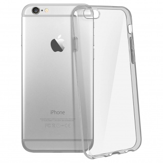 Apple iPhone 6Plus & 6S Plus Ultra-Clear Schutzhülle aus Silikon - Transparent