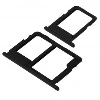 1x Nano SIM-Kartenhalter, 1x Nano SIM-/Micro-SD Kartenhalter für Galaxy J5 2017