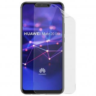 2x Huawei Mate 20 Lite Hydrogel Displayschutzfolien ultradünn flexibel - Imak