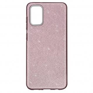 Schutzhülle, Glitter Case für Samsung Galaxy A02s â€? Rosa