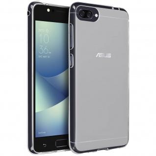Unverbrüchliche weiße Schutzhülle aus Silikon für Asus Zenfone 4 Max ZC520KL