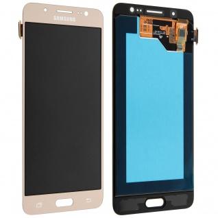 Galaxy J5 2016 LCD-Komplettset + Touchscreen - Original Samsung gold