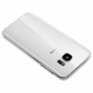Samsung Galaxy S7 Rundumschutz Vorder- Rückseite - 360° Schutz + Touchscreen