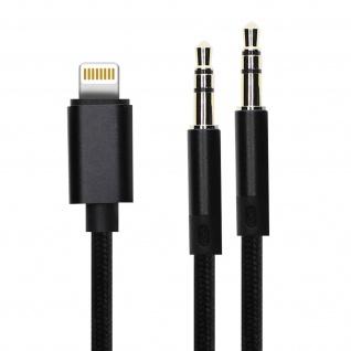 4Smarts SoundCord Lightning auf 3.5mm Klinkenanschluss Audioadapter - Schwarz