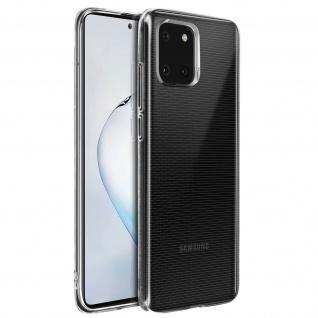 Samsung Galaxy Note 10 Lite Schutzhülle Silikon Second Skin - Transparent