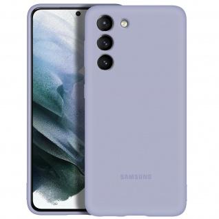 Original Samsung Soft Silicone Cover für Samsung Galaxy S21 - Violett