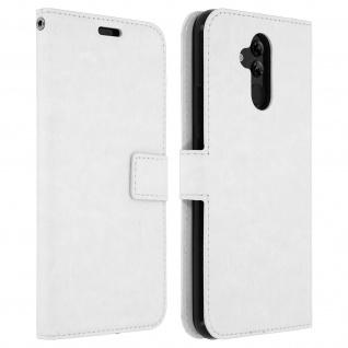 Flip Stand Cover Brieftasche & Standfunktion Huawei Mate 20 lite - Weiß - Vorschau 1