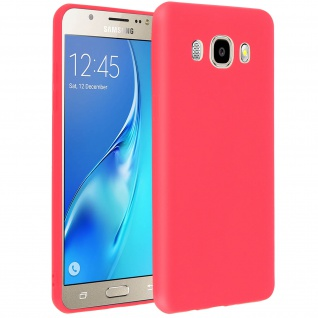 Forcell Samsung Galaxy J5 2016 Soft Touch Silikonhülle, soft case - Rot