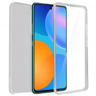 Schutzhülle für Huawei P Smart 2021, Vorder- + Rückseite ? Transparent
