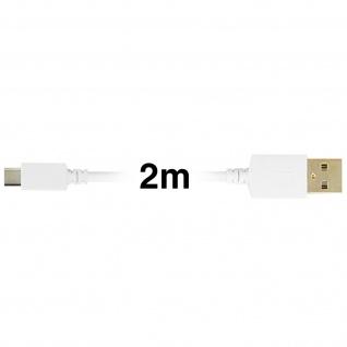 Micro-USB auf USB Kabel Inkax - 2M Aufladen und Synchronisieren - Vorschau 3