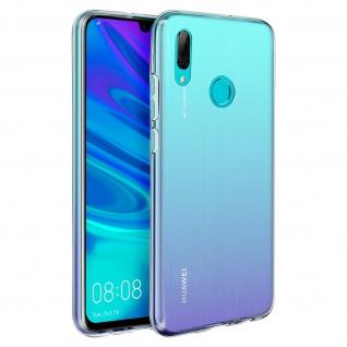 Huawei Y7 2019 Schutzhülle Backcover Silikon by Akashi - Transparent