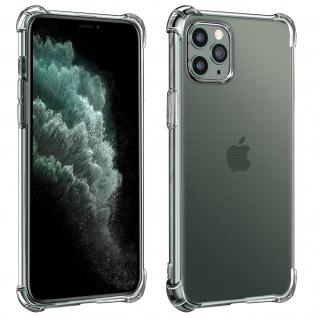 Flexible Apple iPhone 11 Pro Silikon Bumper Hülle, stoßfest ? Transparent