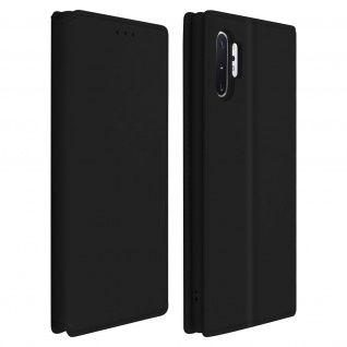 Kunstleder Cover Classic Edition Samsung Galaxy Note 10 Plus - Schwarz