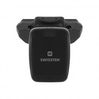 Swissten S-Grip Handyhalterung, Autohalterung für CD-Schlitz - Schwarz